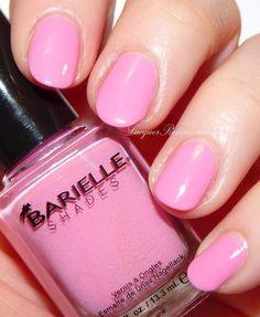 Barielle The Pink of Fashion Nails  #nails #nailpolish #nailart #pinkpolish #barbiepink - bellashoot.com