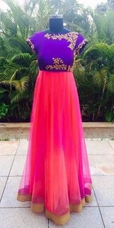 Rich Floor Length Salwar for Sale - Indian Dresses Indian Frocks, Indian Gowns, Indian Attire, Indian Outfits, Indian Clothes, Indian Wear, Indian Designer Outfits, Designer Dresses, Designer Wear