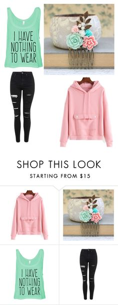 """""""Idk"""" by e220012c ❤ liked on Polyvore featuring Topshop, women's clothing, women, female, woman, misses and juniors"""