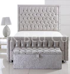 Special Princess Crushed Velvet/PVC/Chenille Beds -3FT,4FT,4.6FT,5FT,6FT in Home, Furniture & DIY, Furniture, Beds & Mattresses | eBay