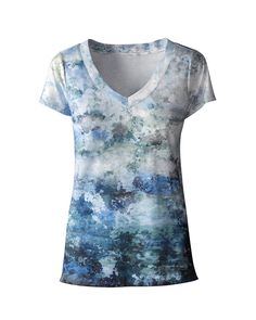 Waves t-shirt from Coldwater Creek