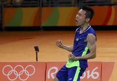 rio olympics 2016   2016 Rio Olympics - Badminton - Men's Singles - Semifinals…