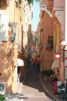Monaco's old town