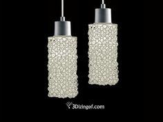 3D Printed Longo U2013 Tetrahedra Light Shade By Dizingof