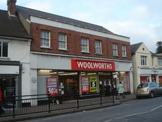 Billericay Woolworths 2008 Telephone Exchange, Buildings, Store, Red, Larger, Shop