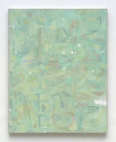 """Glass, 2015, oil on linen, 63"""" x 50"""""""