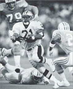Dalton Hillard 1990 against Houston