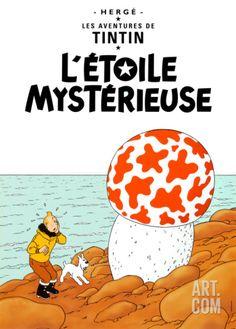 L'Etoile Mystérieuse, c.1942 Art Print by Hergé (Georges Rémi) at Art.co.uk