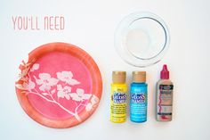 DIY: Moroccan Candle Holders From Glass Jars + Paint