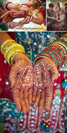 "HDZ Bride Saira from 7/3/11. From Making the Moment ""Bengali jewelry - breathtaking!"""