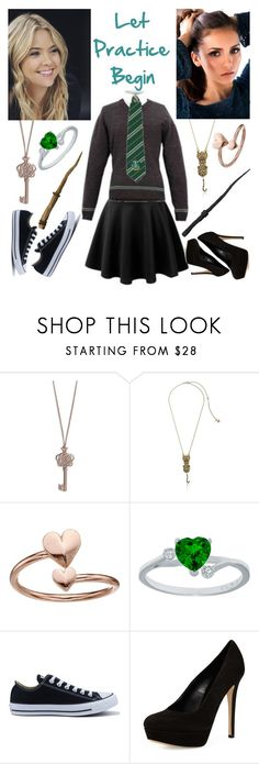 """""""let practice begin"""" by mrsnotsoperfect ❤ liked on Polyvore featuring Vera Bradley, Betsey Johnson, Alex and Ani, Converse and Charles David"""