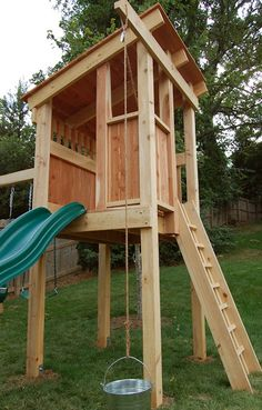 Natural State Treehouses: playset idea