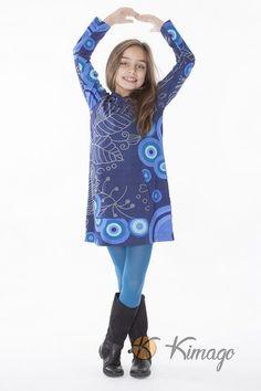 vestido_invierno_niña_celeste_divertido