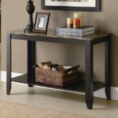 New York: Brand New Sofa Table $75 - http://furnishlyst.com/listings/295790