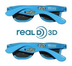 Ice Age  Continental Drift Kids Size Genuine Sealed RealD Circular  Polarized 3D Glasses for RealD fee5699e14