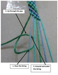 how to make friendship bracelets with a home-made loom