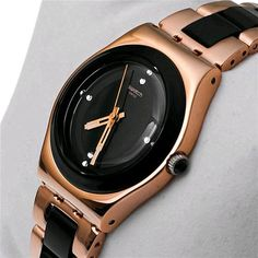 Orologio Swatch Irony Rose Pearl Black YLG123G