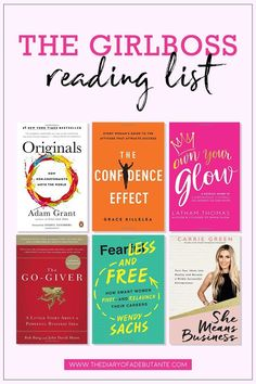 This reading list for female entrepreneurs features 18 of the best business books for women to read this year! Click through to see which of the best books for girlbosses made the list for 2018 from solopreneur and former actuary Stephanie Ziajka from Dia Books To Read For Women, Books For Teens, Best Books To Read, Best Books Of All Time, Best Self Help Books, Best Love Books, Books To Read In Your 20s, Reading Lists, Book Lists