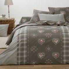 Housse de couette, pur coton, Saint-Léris La Redoute Interieurs - Linge de lit adulte