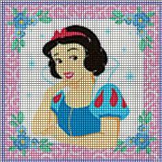 Disney Princess Snow White Crochet Pattern