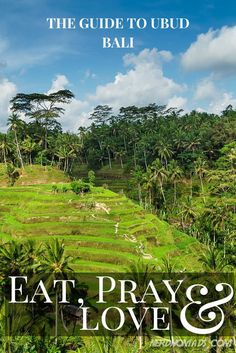 """Ubud is probably the place on Bali that has preserved it`s Balinese culture the most, and you can see and get a real feel of the true """"soul"""" of Bali here. Here are the must-see and must-do things when heading to Ubud on Bali Ubud, Bali Travel Guide, Asia Travel, Places To Travel, Places To See, Travel Destinations, Bali Baby, Lombok, Voyage Bali"""