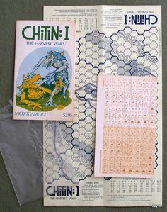 Chitin I: The Harvest Wars (MicroGame 2) - 1ST PRINT