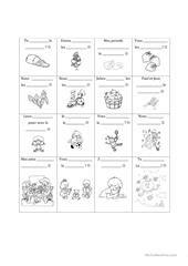 La lettre fiche d'exercices - Fiches pédagogiques gratuites FLE