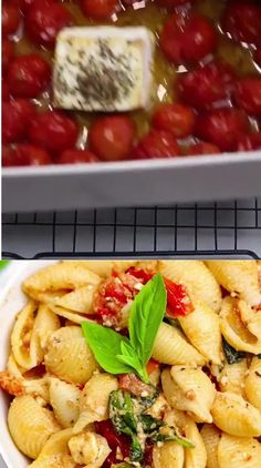 This viral baked feta pasta recipe is called #uunifetapasta and went viral in Finland by Liemessa and Tiiu. This baked feta pasta is made with cherry tomatoes, feta cheese, fresh basil, garlic, olive oil, and spices. Cherry Tomato Recipes, Cherry Tomato Pasta, Roasted Cherry Tomatoes, Pasta Dinner Recipes, Lunch Recipes, Cooking Recipes, Healthy Recipes, Tomato Pasta Recipe, Feta Pasta