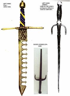Ethnographic Arms & Armour - Swordbreakers: A Myth ?