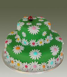 Green Daisy 2