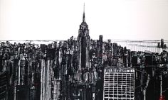 Concrete Jungle II by Paul Kenton Now Available to view at Westover Gallery £3950