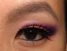 Orange and Purple EOTD. Click thru for more pictures!