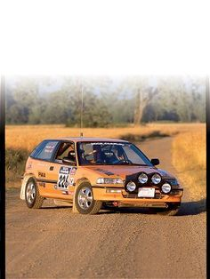 1990 Honda Civic Rally Car - Rally 'Round the Civic