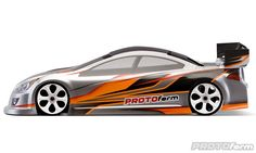 P37-N Light Weight Clear Body: PROTOform | RC Bodies & Accessories