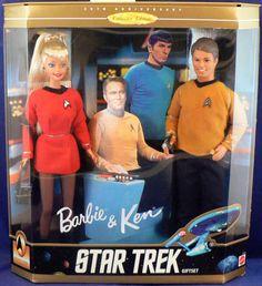 Barbie & Ken Star Treck