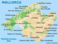 Mallorca - Map ... we crossed the whole island several times ... been there for 2 times 3 weeks in one year! :D Totally loved it