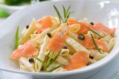Dawn+Villanueva's+Salmon+Scampi+over+Whole+Wheat+Pasta+