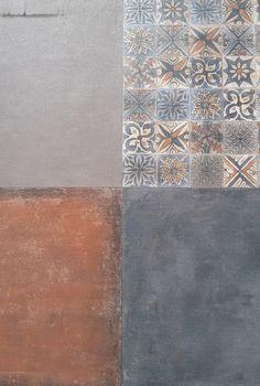 our garden tiles