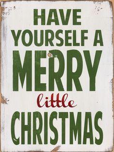 Merry Little Christmas Art Print at AllPosters.com