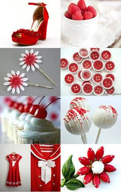Red and White and Cute All Over