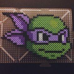 Donatello TMNT perler beads  by dominoez