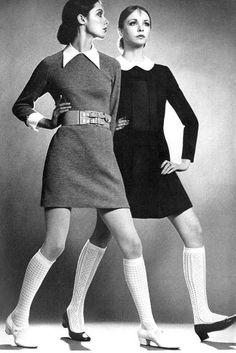 60's Fashion, collars