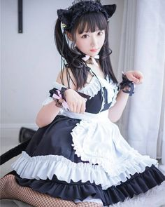 Image may contain: one or more people Anime Cosplay Girls, Kawaii Cosplay, Cute Cosplay, Maid Cosplay, Asian Cosplay, Cosplay Outfits, Beautiful Japanese Girl, Beautiful Asian Girls, Cute Asian Girls