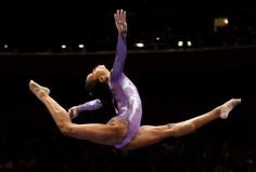 Gabrielle Douglas earned her bid to the Olympics by coming in First Place at the Olympic Trials July 1, 2012 ensuring her place in the Games.