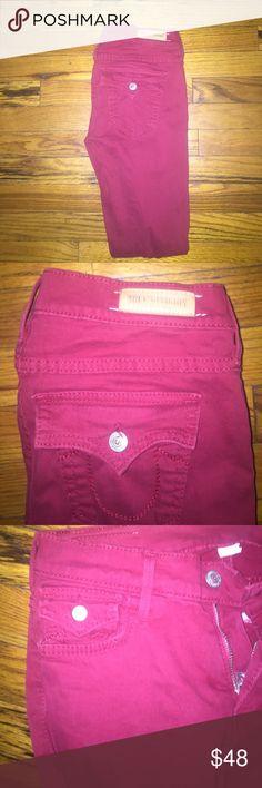 True religion jeans True religion skinny jeans red size 26 True Religion Jeans Skinny