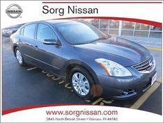2012 Nissan Altima 2.5 SL Warsaw IN. Dark Slate Metallic. $14,684  Www.sorgnissan