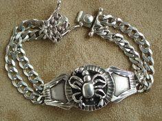 Scorpion Sterling Silver Bracelet
