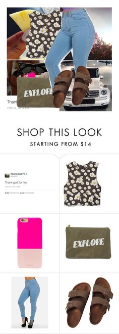 """""""#453"""" by westcoke ❤ liked on Polyvore featuring dELiA*s, BaubleBar, Izola, Birkenstock, Charlotte Russe, women's clothing, women, female, woman and misses"""