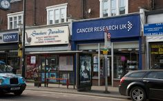 """Don't you love the """"smokers paradise"""" right next to the cancer research place?... What price irony...?  A book and exhibition celebrating the worst aspects of London - Telegraph"""