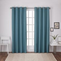 Molly London thermal grommet top window textured linen curtain panels provide an elegant look to any room in your home. The London solid color curtain panels are offered in beautiful neutral colors add a luxurious rich look and feel to dress any window setting. These textured panels come with foam thermal insulation and drape beautifully, assisting in blocking light, preventing harmful UV rays from reaching your floors and furniture, efficiently prevents cold or heat transfer from outside…